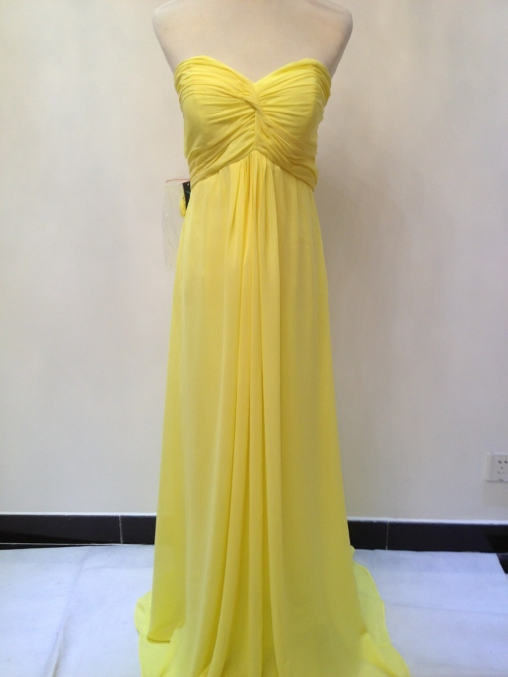 Yellow Affordable Bridesmaid Dresses formal Gowns on Luulla